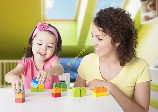 конструирование Лего семьёй