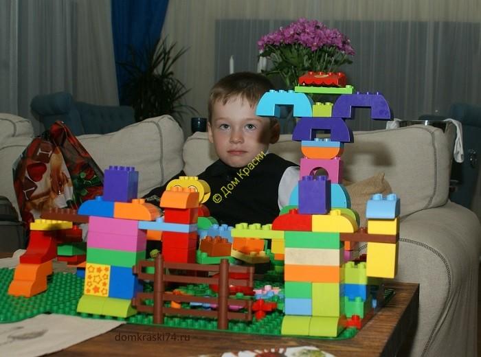 конструирование Лего детьми