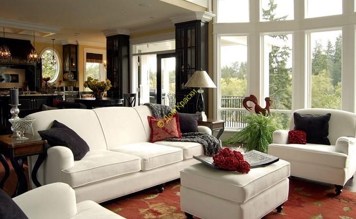 фото дизайна интерьера квартиры в современном стиле