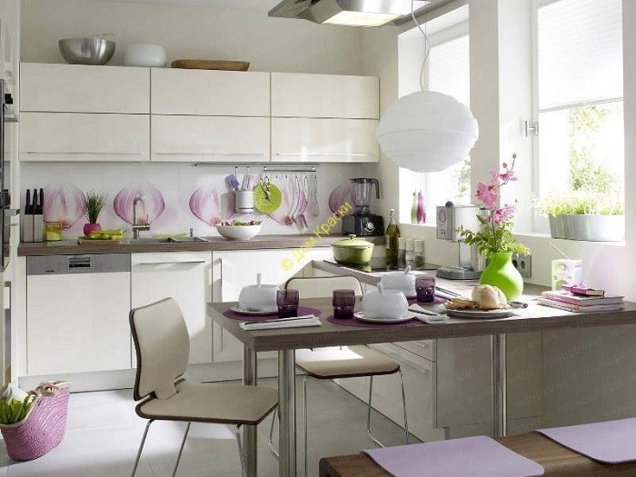 дизайн интерьера квартиры в современном стиле_столовая