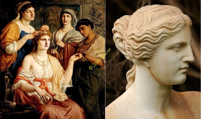идеалы женской красоты в древней греции