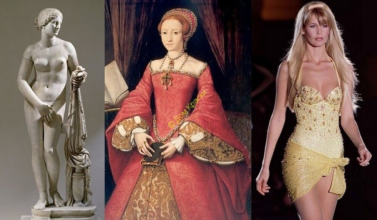 история идеалов женской красоты