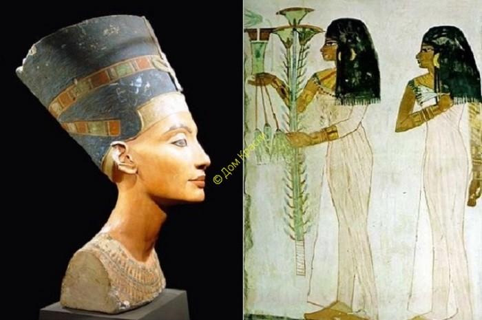 идеал женской красоты в древнем египте