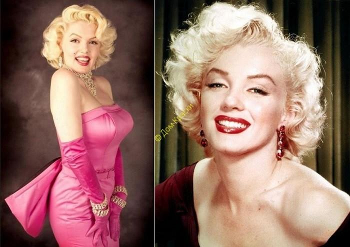 идеал женской красоты_20 годы 20 века с мэрилин монро