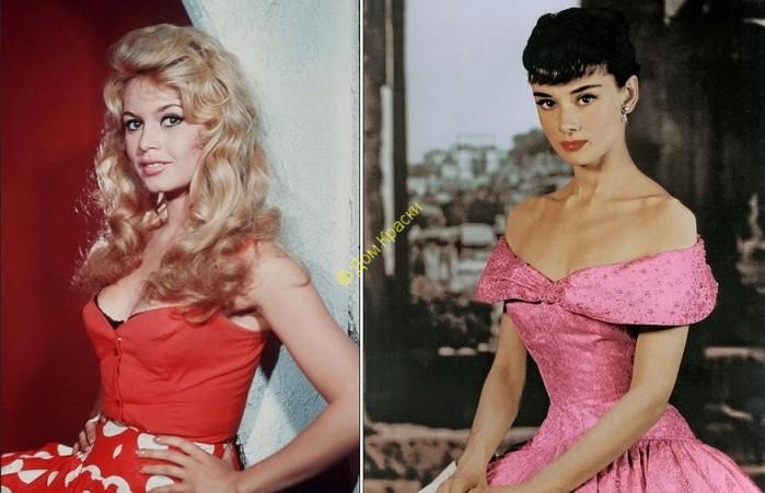 идеал женской красоты в 60 годы 20 века